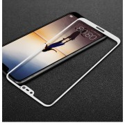 3D heldækkende panserglas hvid Huawei P20 lite Mobil tilbehør