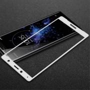 Heldækkende panserglas hvid Sony XZ2 compact Mobil tilbehør