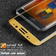 Til Huawei Mate 9 Pro skærm beskyttelsfilm guld hel dækkende Huawei Mobil tilbehør Leveso.dk