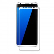 Samsung Galaxy S8 Plus fuld dækkende hvid beskyttelsesglas, Galaxy S8 plus mobil tilbehør