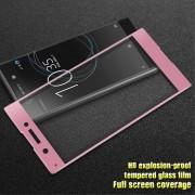 Sony Xperia XA1 pink fuld dækkende skærm beskyttelse Mobil tilbehør
