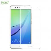 Huawei P10 lite fuld dækkende skærm beskyttelse hvid Mobiltilbehør