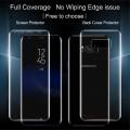 2 i 1 Samsung Galaxy S8 beskyttelsesfilm komplet for og bagside