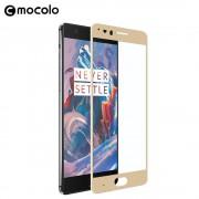 Oneplus 5 fuld dækkende skærm beskyttelse guld Mobiltilbehør