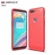 C-style armor cover rød Oneplus 5T Mobilcovers