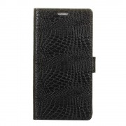 Flipcover croco med lommer Oneplus 5T Mobilcovers