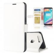 Vilo flipcover med lommer hvid Oneplus 5T Mobilcovers