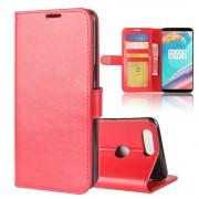 Vilo flipcover med lommer rød Oneplus 5T Mobilcovers
