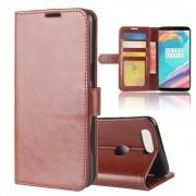 Vilo flipcover med lommer brun Oneplus 5T Mobilcovers