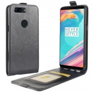 Oneplus 5T vertikal cover sort Mobilcovers