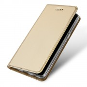 Oneplus 5T slim flipcover guld Mobilcovers