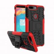 Oneplus 5T håndværker cover rød Mobil tilbehør