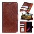 Klassisk læder cover Oneplus 5T brun