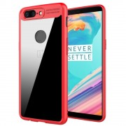 Combi cover rød Oneplus 5T Mobilcovers