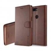 Retro cover mørkebrun Oneplus 5T Mobilcovers