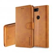 Retro cover brun Oneplus 5T Mobilcovers
