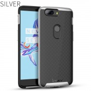 Oneplus 5T sølv combi cover Mobil tilbehør