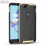 guld Oneplus 5T combi cover Mobil tilbehør