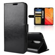 Vilo flip cover sort Oneplus 6 Mobil tilbehør