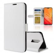 Vilo flip cover hvid Oneplus 6 Mobil tilbehør