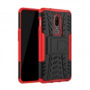 Oneplus 6 Håndværker cover rød Mobil tilbehør