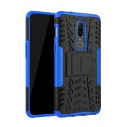 Oneplus 6 Håndværker cover blå Mobil tilbehør