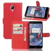 ONEPLUS 3 cover pung  rød Mobiltelefon tilbehør