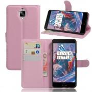 ONEPLUS 3 cover pung pink Mobiltelefon tilbehør