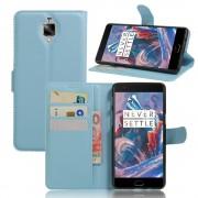 ONEPLUS 3 cover pung blå Mobiltelefon tilbehør
