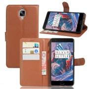 ONEPLUS 3 cover pung brun Mobiltelefon tilbehør
