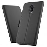 sort Slim flip cover Oneplus 6T Mobil tilbehør