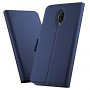 blå Slim flip cover Oneplus 6T Mobil tilbehør