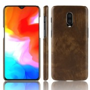 brun Stilfuld hard case Oneplus 6T Mobil tilbehør