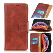 brun Elegant læder cover Oneplus 7 Pro Mobil tilbehør
