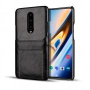 sort Case med kort lommer Oneplus 7 Pro Mobil tilbehør