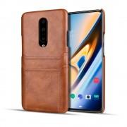 brun Case med kort lommer Oneplus 7 Pro Mobil tilbehør