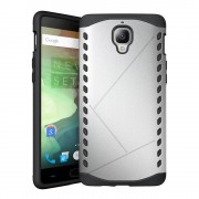 ONEPLUS 3 cover hybrid sølv Mobiltelefon tilbehør