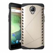 ONEPLUS 3 cover hybrid guld Mobiltelefon tilbehør
