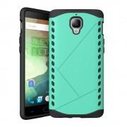 ONEPLUS 3 cover hybrid cyan Mobiltelefon tilbehør