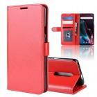 rød Vilo flip cover Oneplus 7 Pro Mobil tilbehør