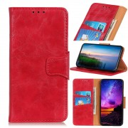 rød Oneplus 7 elegant læder cover