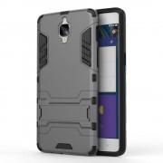 til Oneplus 3/3T grå cover solid hybrid Mobiltelefon tilbehør