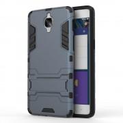 Til Oneplus 3/3T cover solid hybrid mørkeblå Mobil tilbehør