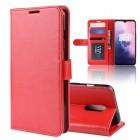 rød Vilo flip cover Oneplus 7 Mobil tilbehør