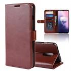brun Vilo flip cover Oneplus 7 Mobil tilbehør
