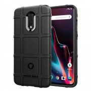 Rugged shield case Oneplus 7 sort Mobil tilbehør
