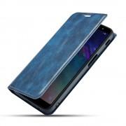 blå Slim retro etui Oneplus 7 Pro Mobil tilbehør