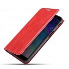 rød Slim retro etui Oneplus 7 Pro Mobil tilbehør
