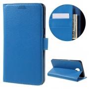 Oneplus 3/3T blå etui p-line med kreditkort lommer Mobiltelefon tilbehør