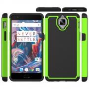 til Oneplus 3T / 3 grøn cover hybrid convex Mobiltelefon tilbehør